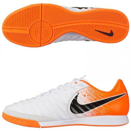 Бутсы футзальные Nike Tiempo LegendX 7 Academy IC, белый