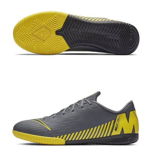 Бутсы футзальные Nike Mercurial VaporX XII Academy IC, серый