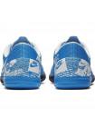 Бутсы футзальные Nike Mercurial VaporX XIII Academy IC (детские), голубой