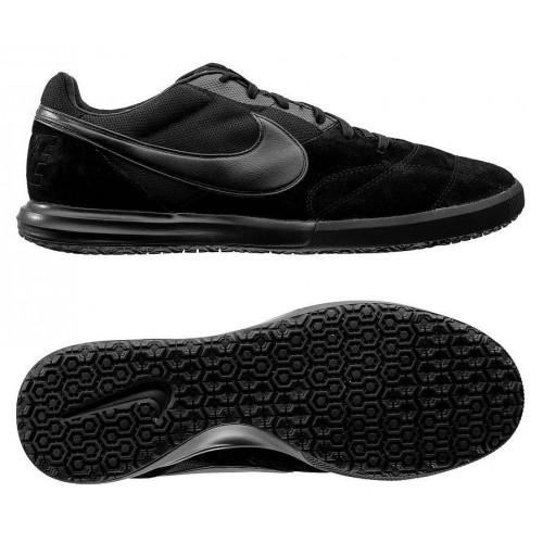Бутсы футзальные Nike Tiempo Premier II Sala IC, черный