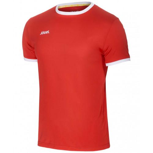 Футболка футбольная Jögel JFT-1010-021, красный/белый