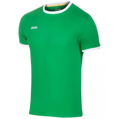 Футболка футбольная Jögel JFT-1010-031, зеленый/белый, детская