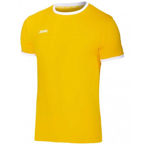 Футболка футбольная Jögel JFT-1010-041, желтый/белый