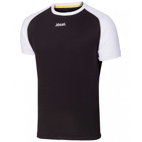 Футболка футбольная Jögel JFT-1011-061, черный/белый