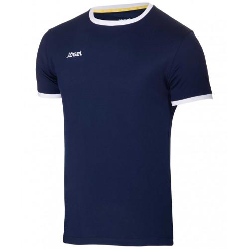 Футболка футбольная Jögel JFT-1010-091, темно-синий/белый