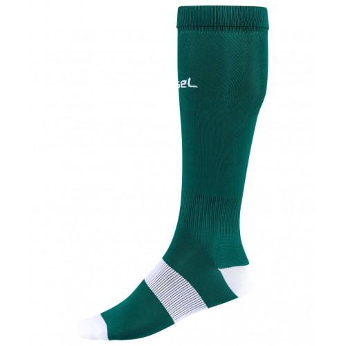 Гетры футбольные Jögel JA-001, зеленый/белый