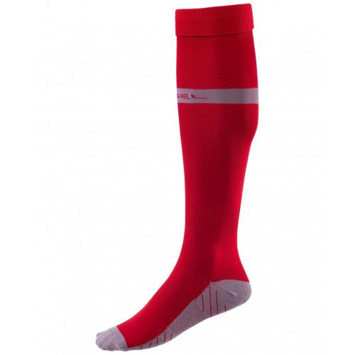 Гетры футбольные Jögel JA-003, красный/серый
