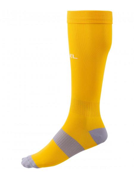 Гетры футбольные Jögel Essential JA-006, желтый/серый