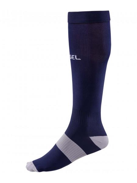 Гетры футбольные Jögel Essential JA-006, темно-синий/серый