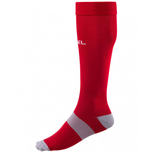 Гетры футбольные Jögel Essential JA-006, красный/серый