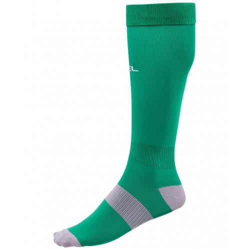 Гетры футбольные Jögel Essential JA-006, зеленый/серый