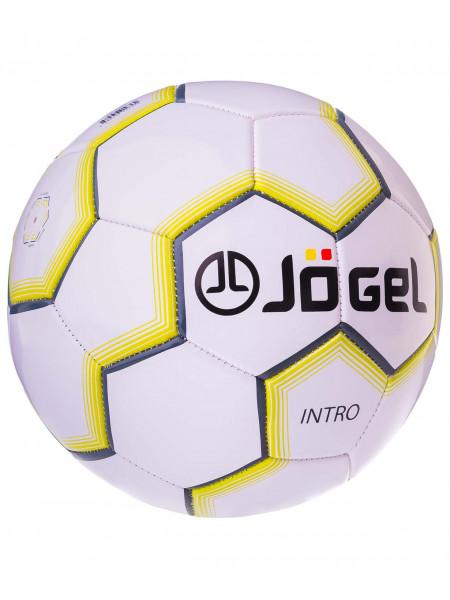 Мяч футбольный Jögel JS-100 Intro №5, белый