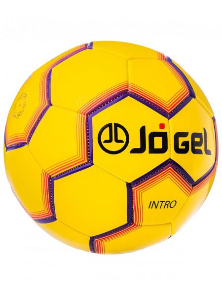 Мяч футбольный Jögel JS-100 Intro №5, желтый