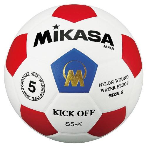 Мяч футбольный Mikasa S5-K, белый