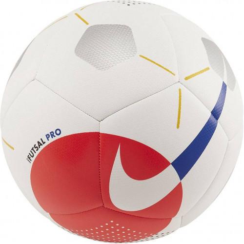 Мяч футзальный Nike Futsal Pro, белый/красный