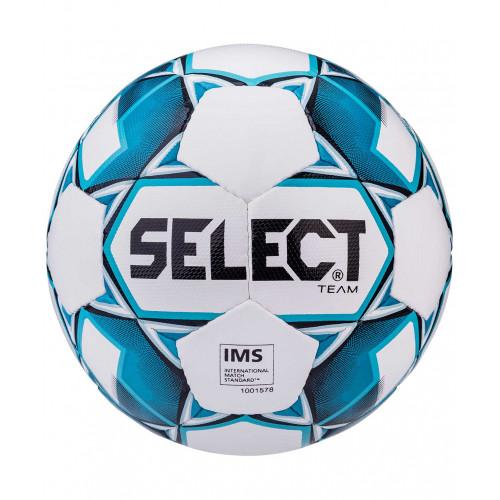 Мяч футбольный Select Team IMS 815419 №5, белый/синий/черный