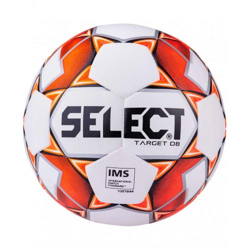 Мяч футбольный Select Target DB №5, белый/красный/черный