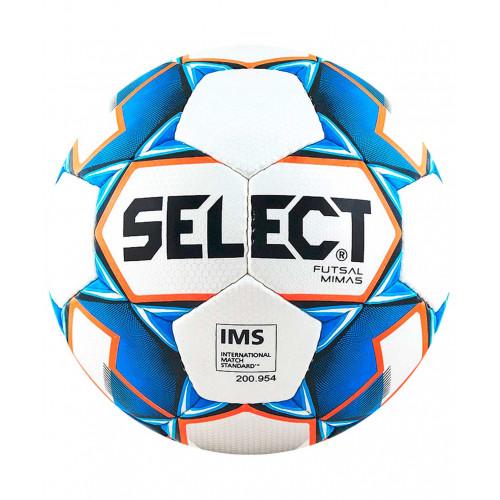 Мяч футзальный Select Futsal Mimas IMS 852608 №4, белый/синий/оранжевый/черный