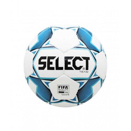 Мяч футбольный Select Team FIFA 815411, №5, белый/синий/черный
