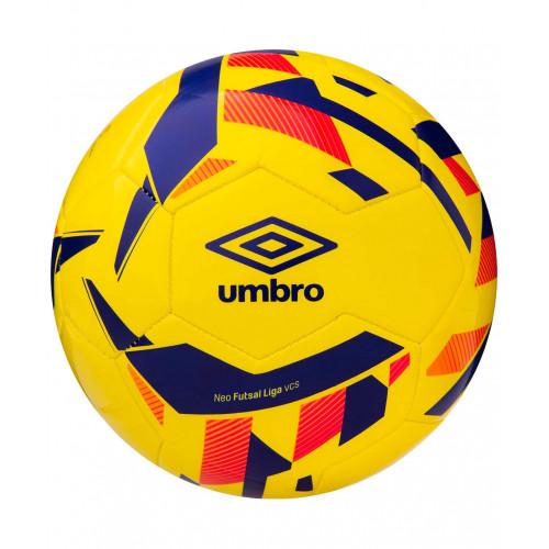 Мяч футзальный Umbro Neo Futsal Liga 20946U, №4, желтый/синий/оранжевый/красный