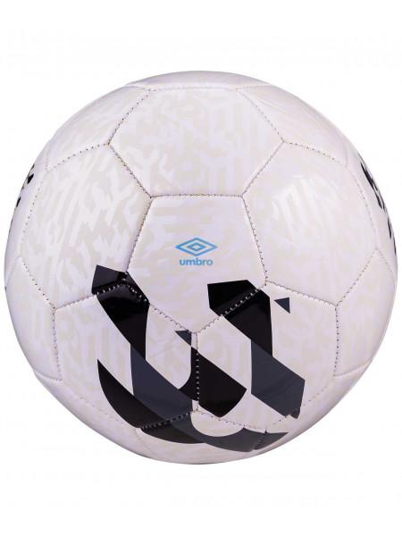 Мяч футбольный Umbro Veloce Supporter 20981U, №3, белый/темно-серый/черный/голубой
