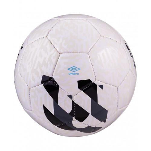 Мяч футбольный Umbro Veloce Supporter 20981U, №4, белый/темно-серый/черный/голубой