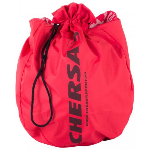 Чехол для мяча для художественной гимнастики CHERSA, красный