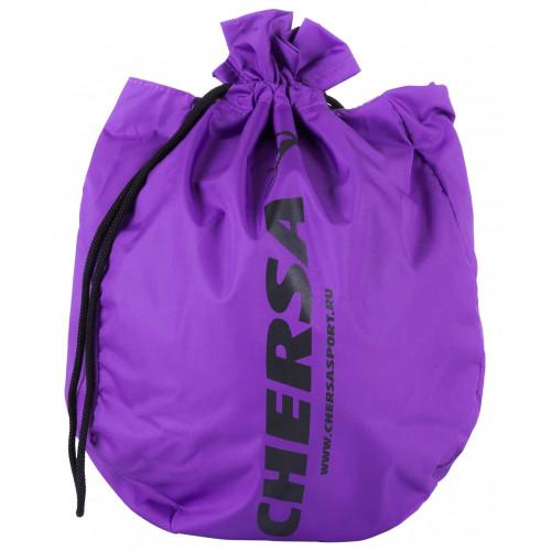 Чехол для мяча для художественной гимнастики CHERSA, фиолетовый