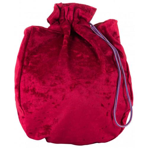 Чехол для мяча для художественной гимнастики CHERSA, бархат, красный