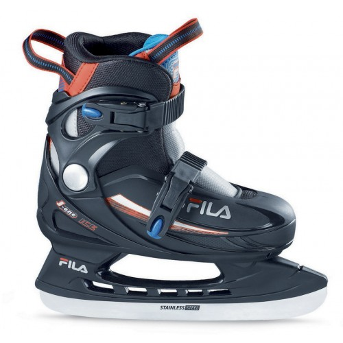 Раздвижные коньки FILA J-ONE G ICE HR черный/красный/синий