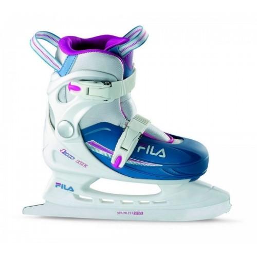 Раздвижные коньки FILA J-ONE G ICE HR белый/голубой