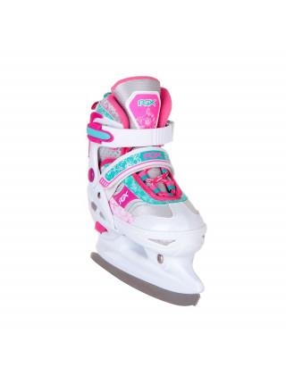 Раздвижные коньки RGX Fresco розовый