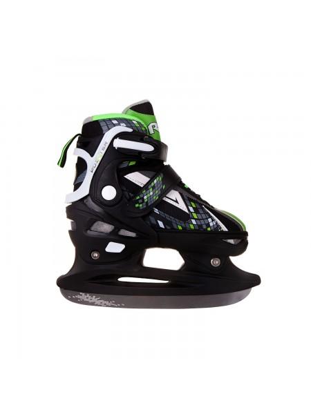 Раздвижные коньки RGX POINTER зеленый