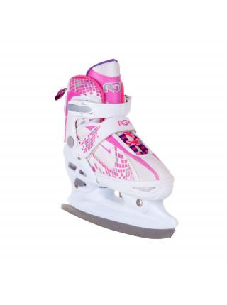 Раздвижные коньки RGX POINTER розовый