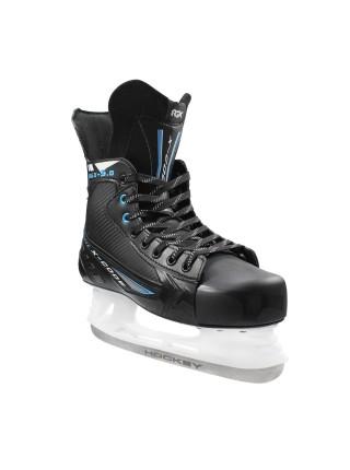 Хоккейные коньки для проката Rental 5.0 синий