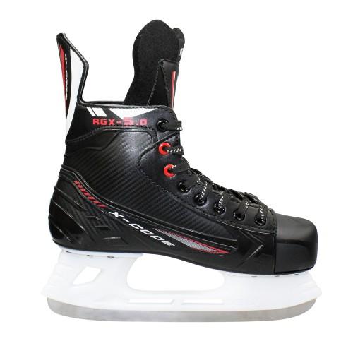 Хоккейные коньки для проката Rental 5.0 красный