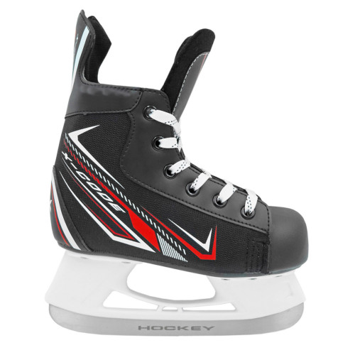 Хоккейные коньки для проката Rental 3.0 красный
