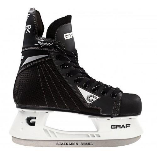 Хоккейные коньки Graf SUPER G, Sakurai blades YTH детские