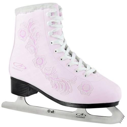 Фигурные коньки HUDORA Rose розовый