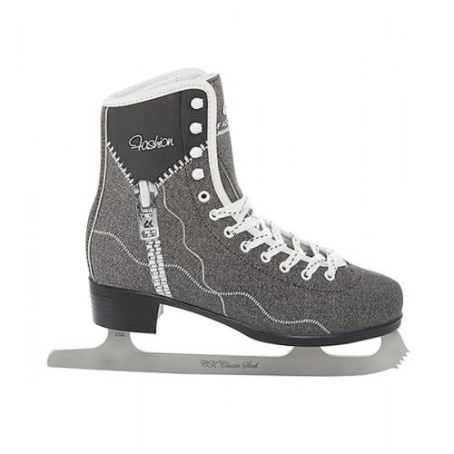 Фигурные коньки СК (Спортивная Коллекция) Fashion Jeans черный NEW