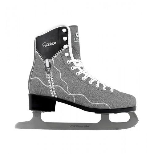 Фигурные коньки СК (Спортивная Коллекция) Fashion Lux Jeans черный