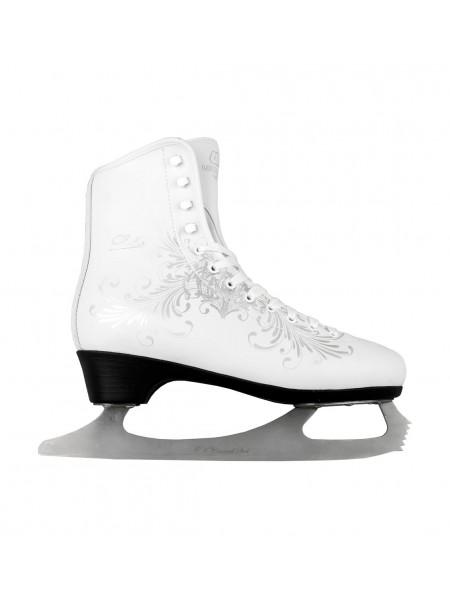 Фигурные коньки СК (Спортивная Коллекция) Ladies Lux Fur Corso белый