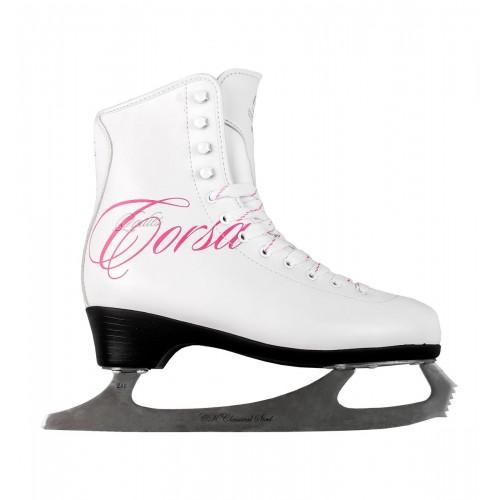 Фигурные коньки СК (Спортивная Коллекция) Ladies Lux Fur Corso розовый