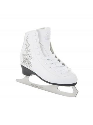 Фигурные коньки СК (Спортивная Коллекция) Ladies Lux Velvet белый