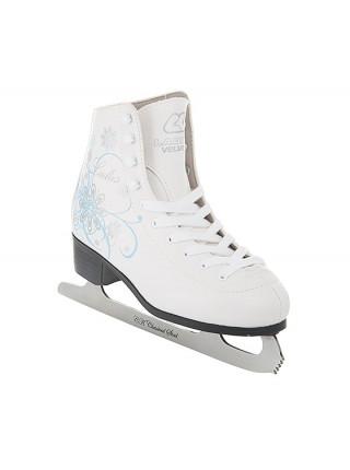 Фигурные коньки СК (Спортивная Коллекция) Ladies Velvet Classic белый