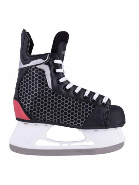 Хоккейные коньки Atemi PULSAR RED