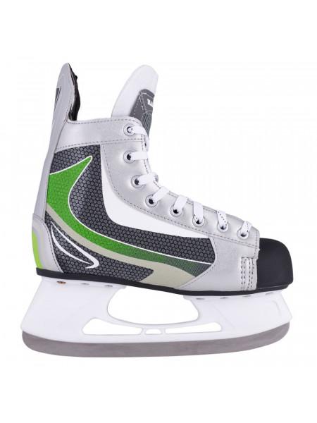 Хоккейные коньки Atemi RAPID GREEN