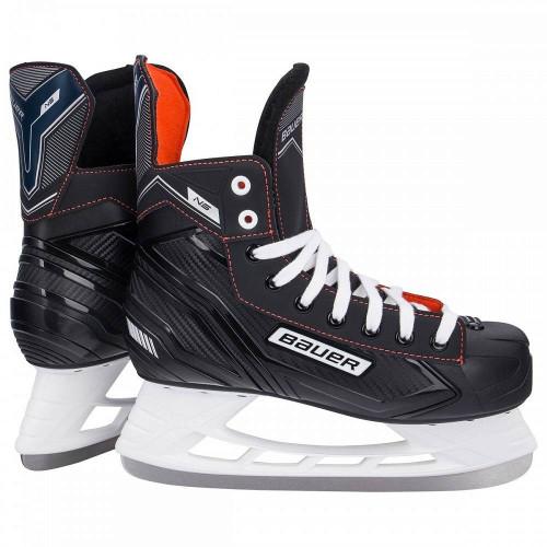 Хоккейные коньки Bauer NS (детские), черный
