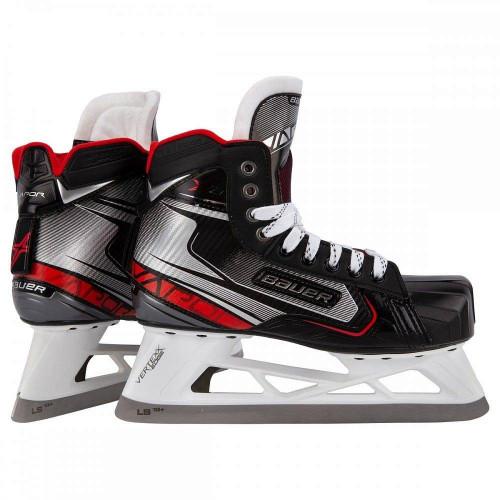 Хоккейные коньки вратаря Bauer Vapor X2.7 S19 EE (подростковые), черный