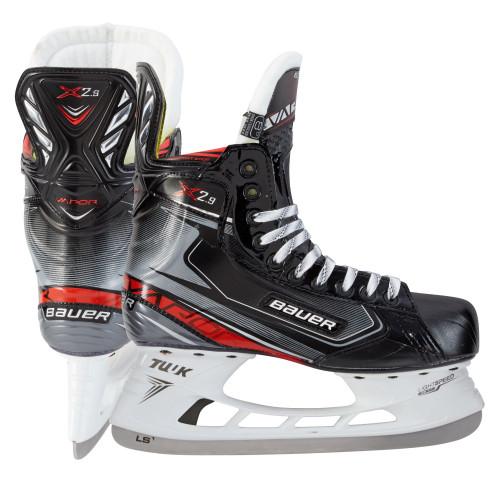 Хоккейные коньки Bauer Vapor X2.9 (подростковые), черный